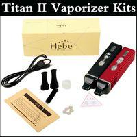 2014 TITAN 2 комплекты с 2200mAh Titan 2 сухой травы испаритель ЖК-дисплей Titan2 Геба комплект с гарантией качества ЖК-дисплей с красочной коробке