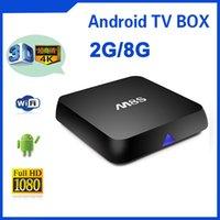 Nouveau M8S 4K Enraciné KODI 14,2 intelligent Android TV Box Amlogic S812 Quad Core 2 Go de RAM de 8 Go ROM HD IPTV flux Sport