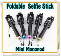 NEW Foldable Wired Monopod Extendable All- in- One mini Selfie...