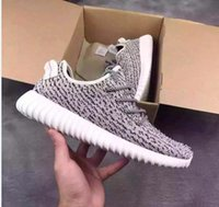 Yeezy 350 Boosts Shoes AAA quality Kanye West black red moon...