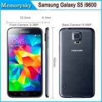 Desbloqueado i9600 Samsung Galaxy S5 LTE WCDMA 2 GB de RAM 16 GB de ROM G900F 16MP cámara Quad Core 5.1