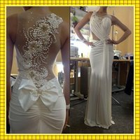 Hot White Ivory Mermaid Wedding Evening Dresses For Fashion ...