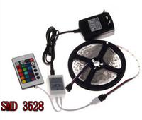 RGB LED Strip 5M 300Led 3528 SMD + 24Key IR Remote Controlle...
