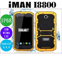 Iman I8800 IP68 Waterproof 4G FDD Smartphone 5. 5Inch Qualcom...