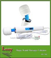 Masseur magique ultime chaud de baguette magique avec la tête 30 d'Hitachi, vibreur puissant Massager plein de corps Jouets adultes de sexe 110-240V US bouchon par DHL