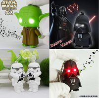 Newest LED Star Wars Darth Vader Keychains with Sound Light ...