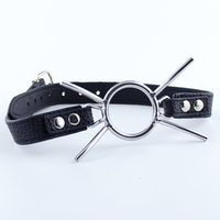 Stainless Steel Butterfly Ring Open Mouth Gag Ball Gag BDSM ...