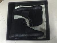 wholesale Mens Shoes Kanye West Boost 750 Black Athletics Bo...