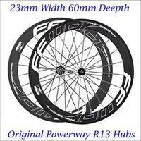 FFWD F6R 700C Carbon Fiber Road Bike Racing Wheelset 60mm Cl...