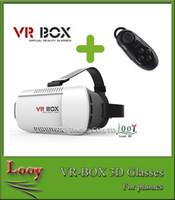 Box VR 3D Avec bluetooth upgrated Version VR Réalité Virtuelle Lunettes VR Lunettes Rift Google Carton Film pour 4.0