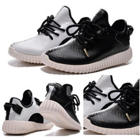 2015 new Yeezy Boost 350 White Black Women and Men Shoes, Pop...