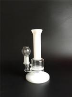 CNCamille mini bongs en verre verre Bubbler bongs en verre soufflé à la main percolator eau disque disque en peigne with14.5mm Livraison gratuite