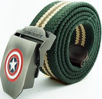 A24 Brand New Canvas Belt for Man Military Captain American ...