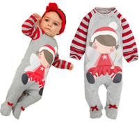 Xmas Christmas Santa Claus Long Sleeve Cotton Baby Boys Baby...