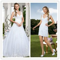 Vintage Wedding Dresses 2015 Wedding Dress with Detachable S...