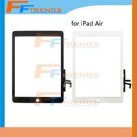 Panneau tactile en verre de digitizer de verre de l'écran tactile de bateau libre pour les pièces de rechange de réparation d'air d'iPad Haute qualité 100%