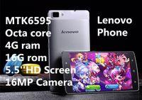 Livraison gratuite 2017 Nouveau téléphone portable MTK6595 de copie de Lenovo d302 octa coeur 4Gram 16Grom double carte de SIM 3G GPS android 4.4 téléphones de métal de 5.0IPS
