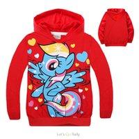 2015 Spring Autumn New style my little pony hoodie Cartoon l...