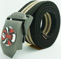 A19 Brand New Canvas Belt for Man Military Facebook Belt 21 ...