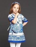 2015 Autumn Children Girls Monsoon Fashion Handmade Beading ...