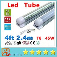 NEW Integrated 2. 4m 8ft 45W Led T8 Tube Lights SMD2835 192 L...