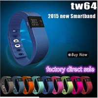 TW64 Smart watch sports wristband bluetooth pedometer bracel...