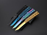 201510 New JL- 07 BM knife 8Cr13Mo blade Balisong butterfly k...