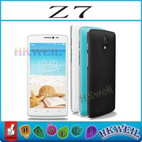 MTK6572 Dual Core Z7 Cell Phone ROM 4GB 5. 0Inch Screen Dual ...