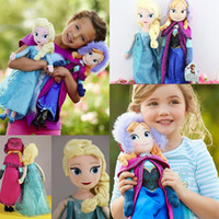 Hot 1PC Retail frozen dolls 50cm 20 inch frozen elsa anna to...