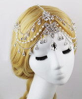2015 Luxury Bridal Crystal Beaded Hair Accessories For Weddi...