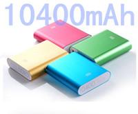 Batería externa de la emergencia de la batería del banco portable de la energía del banco 10400mAh de la energía de Xiaomi para el ipad 06 de la PC de la tableta del teléfono móvil