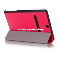 RETAIL Ultra Slim Magnetic Custer 3 Fold Fodling Folio Stand...