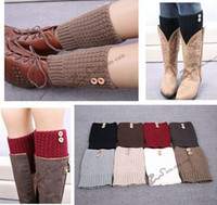 Multicolors Winter Leg Warmers 2015 Women Boot Cuff Sawtooth...