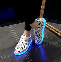 Led shoes for adults 35- 44 led Sneakers men shoes woman huar...