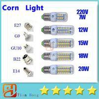 Ultra Bright SMD5730 E27 GU10 B22 E14 G9 LED lamp 7W 12W 15W...