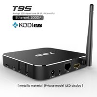 T95 Streaming Media Player Amlogic S905 Android Box Quad Cor...