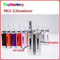 Caliente eGo MT3 EVOD atomizador MT3 - 2 Atomizador para el cigarrillo electrónico Evod Clearomizer para el correo de cigarrillos Varios colores DHL envío libre rápido