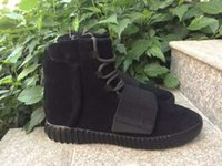 Top Quality New Arrived Boost 750 All Black kanye west men B...
