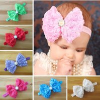 Bows Princess Headwear Childrens Accessories Girls Cute Chif...