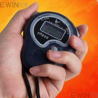 Digital Stopwatch Sports Timer Stop Watch Time Alarm Clock W...
