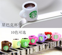 Starbucks Coffee 3. 5mm Earphone Jack Coffe Cup Cell Phone Pl...