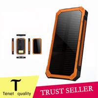 USB солнечной Power Bank 20000mAh безопасности Зарядное устройство портативный аварийного для iphone6s плюс Кемпинг лампы зарядное устройство