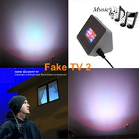 Updated Fake TV2 Simulator with Voice MP3 Speaker Home TV Si...