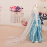 New fashion girls Frozen elsa dress Frozen Costume Elsa prin...