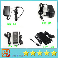 AC DC Plugtop Power Adapter Supply 12V 1A 12V 2A 12V 5A 12V ...