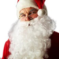 Creative 2016 Fashional Christmas Beard Decoration Santa Cla...