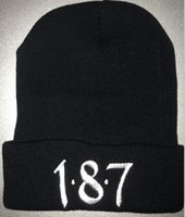 Knitted Beanies for Unisex 100% Acrylic Hats 187 LK Hiphop H...