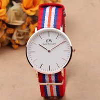 DW Style Nylon Watchband Quartz Movement Sport Watches For M...