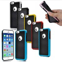 Hybrid Rugged Rubber Matte Shockproof Case Cover for Iphone ...