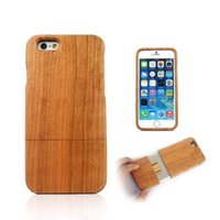 Factory Price Wooden wood 2 in 1 Case for iphone 6 4. 7'...